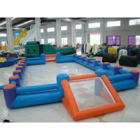 Inflatable Soccer Field Inflatable Soccer Frame For Playground / Amusement Park Manufactures