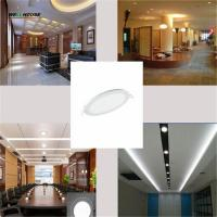 Ultra Thin Led Panel Downlight 3w 6w 9w 12w 15w 18w Round/Square LED Ceiling Recessed Light AC85-265V LED Panel Light Manufactures