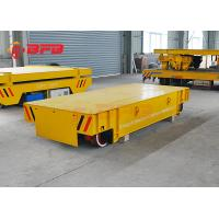 China Unlimited Distance Steel Rail Transfer Cart , Research Battery Powered Heavy Duty Cart on sale