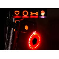 Quality 5 Light Gears LED Bike Lights Cycling USB Rechargeable Rear Tail Light Lamp for sale