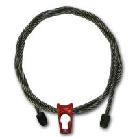 """3/8"""" x 6 ft 6x19 Wire Rope Logging Chokers Nub & Nub Skidding - Style Manufactures"""