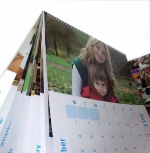CMYK or PMS YO binding glossy lamination Customized Calendar Printing Service Manufactures