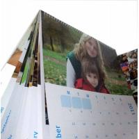 Buy cheap 12x12 Personalized Wall Customized Calendar Printing Colored for school, pretty  from wholesalers