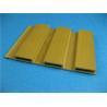 Economic Sandalwood PVC Extrusion Profiles WPC Interior Decoration Manufactures