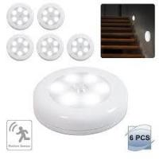China 3 AAA Battery Motion Sensor Night Light , Bathroom LED Night Light Lamp on sale
