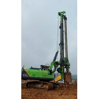 Buy cheap KR125A Infrastructure Pile Driving Equipment 37m Max Pile Depth Low Noise from wholesalers