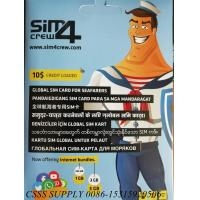 Quality sim4crew simcard in all china ports with cheap cost for all the seamen in the world for sale