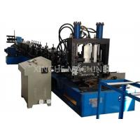 Quality 80-300mm CZ Purlin Roll Forming Machine For 1.5-4mm Thickness Purlin for sale
