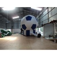420D Oxford Fabric Inflatable Advertising Balloons / Football Floor Lamp Manufactures