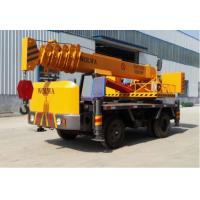 Chinese manufacturer small wheel crane truck mounted crane with telescopic GNQY-Z4 Manufactures