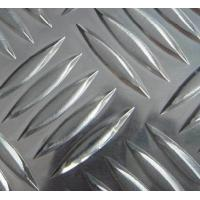 Quality Alloy 3003 Diamond Plate Aluminum Sheets Corrosion Resistance For Construction for sale