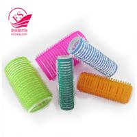 China Beatiful Style Girls Hook And Loop Hair Rollers / Hair-Curler , Eco-Friendly on sale