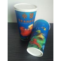 3D lenticular drinking plastic promotional cheap straw cup Manufactures