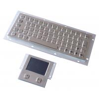 Vandal proof industial keyboard integrate touchpad pointing device USB or PS/2 interface Manufactures