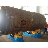Pipe Self Aligned Welding Rotator , Pipe Welding Rotator For Automatic  Blasting Manufactures