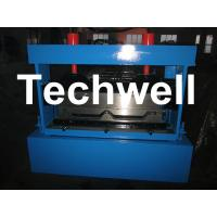 Color Steel Standing Seam Roof Roll Forming Machine For Standing Seam Roof Panels Manufactures