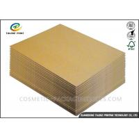 120 / 140GSM Paper Packing Material , Recycle Packing Material For Corrugated Cardboard Manufactures