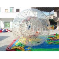1.0mm PVC Transparent Brilliant inflatable ramps zorb balls For Outdoor water Fun Manufactures