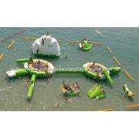 Adult Amusement Park Inflatable Water Toys For Lake / Aqua Fun Manufactures