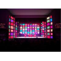 Event Stage Indoor Rental LED Display P3.91 1000 Nits Brightness 16 Bits Grey Level Manufactures