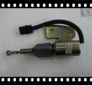 Cummins 3991167 (12VDC), 3991168(24VDC) stop solenoid apply to hyundai excavator Manufactures