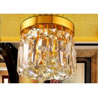 China Mini Single Layer LED Crystal Ceiling Lights With Wall Switch on sale
