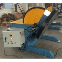 Heavy Duty Pipeline Rotary Welding Positioner  With Rotate Motor And Tilt Motor Manufactures