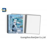 China Durable Custom Printed Notebooks , A4/A5/A6 3D Lenticular Cover CMYK Offset Printing on sale