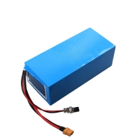 Portable 17.5Ah 52v Lithium Battery Pack , li ion rechargeable battery Manufactures