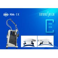 Buy cheap Vertical Removable Cryolipolysis Slimming Machine Double Handle In Grey Color from wholesalers