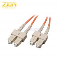 Buy cheap Device Termination Activing Fiber Optic Patch Cord SC to SC Duplex Multimode from wholesalers