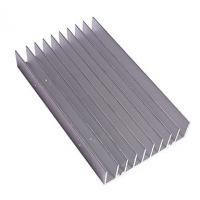 Chromaking Heat Sink Aluminum Extrusion Profiles With 6063-T5 Alloy Manufactures