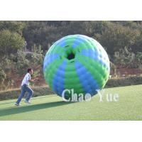 Amazing Outdoor Inflatable Roller Zorb Ball with PVC Manufactures
