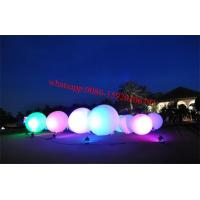 Inflatable Spheres , event structures inflatables, led balloon light , light up balloon ,stand light balloon Manufactures