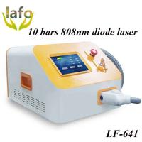 10 Bars Professional 808nm diode laser hair removal permanent best hair removal machine Manufactures