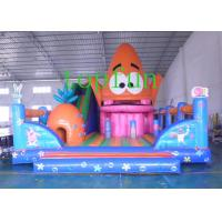 PVC Colorful Inflatable Amusement Park With Slide For Children And Adults Manufactures