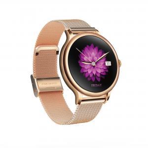 L10 Ladies Smart Watch Waterproof Health round heart rate fitness tracker metal shell spo2 oxygen watch Manufactures