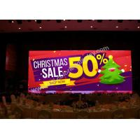 China Hanging High Uniformity P5 Full Color Indoor Led Display For Stage Background on sale
