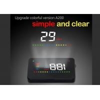 3.5 Inch LED Screen Honda Obd2 Heads Up Display A200 HUD Fatigue Driving Alarm Manufactures