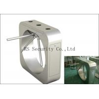 Quality High Security Waist Height Turnstiles / Heavy Duty Low Noise Gate for sale