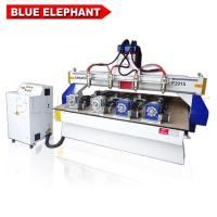 China 2.2kw Delta inverter import from Taiwan , Japanese OMRON Switch , ELE2015 free cnc router plans with 4 set rotary device on sale