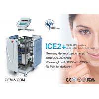 Freckle Removal E-Light IPL RF Beauty Equipment With 4 Filters 1-15ms Pulse Interval Manufactures