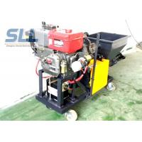 Color Changeable Spraying And Plastering Machines High Efficiency 12HP 5MPa Manufactures