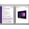 Microsoft Windows OEM Software , Windows 10 Pro Pack 32bit / 64bit Retail Box Manufactures