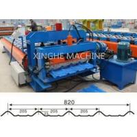 820 Model Automatic Glazed Tile Steel Profile Bending Forming Machine Manufactures