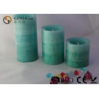 3 Layer Color Warm White Led Candles Flameless For  Home / Hotel Manufactures