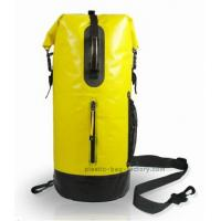 Heavy Duty Waterproof Dry Bags Quick Submersion Of 600D Nylon Coated PVC Tarpaulin Manufactures