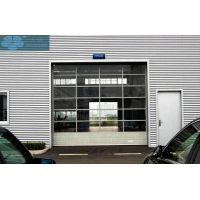 Buy cheap 3m Height Glass Panel Garage Doors from wholesalers