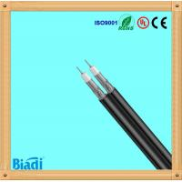 RG6 rg59 rg11 dual coaxial cable cu ccs 1000ft black made in china Manufactures