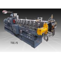 Compounding Twin Screw Extruder 75mm , Wide Application Twin Screw Extruder